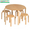 Guidecraft Nordic Table & Chairs Set - Natural 1