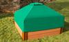 Hexagon Telescoping Hexagon Sandbox Canopy & Cover 3