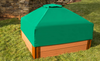 Telescoping Square Sandbox Canopy & Cover 1