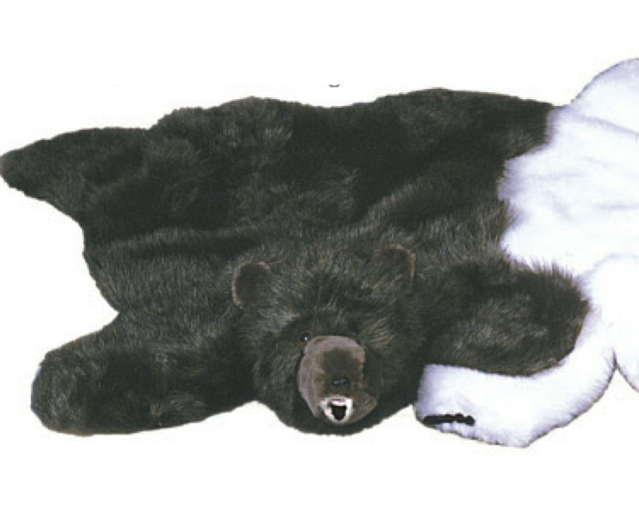 the vintage bear to threads polar offer rug make welcome taxidermy