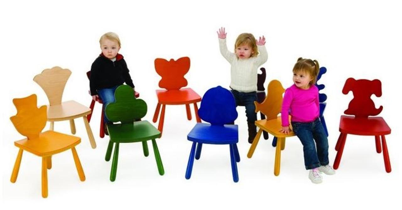 Leaf U0026 Animal Fun Design Shape Chairs ...