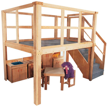 Mainstream School Age Navigator 2000 loft (Deluxe Preschool shown; other furniture not included)