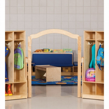 "Jonti-Craft KYDZSuite Welcome Arch - Short - 48"" High Elementary Height 1"