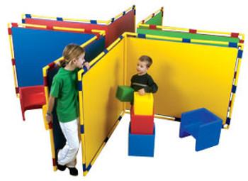 Children's Factory Corner Big Screen Panel in 4 Colors 1
