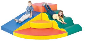 School Age Corner Colossus Soft Climber