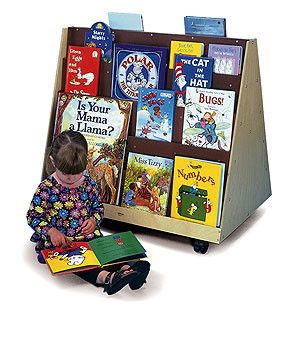 Whitney Brother Two-Sided Book Rack 1