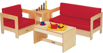 Jonti-Craft Child Living Room Set - Red or Blue 1