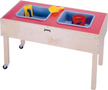 Jonti-Craft 2 Tub Sensory Table 1