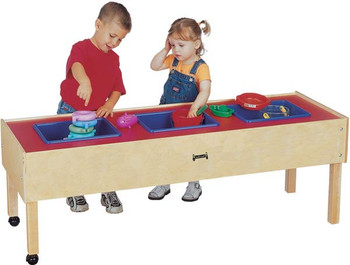 Jonti-Craft 3 Tub Sensory Table 1