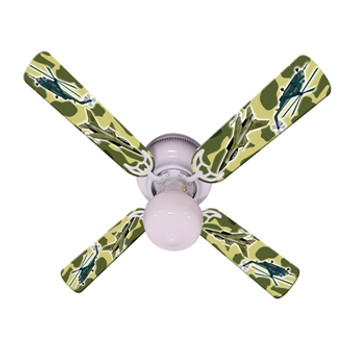 "Freedom Camo Military Ceiling Fan 42"" 1"