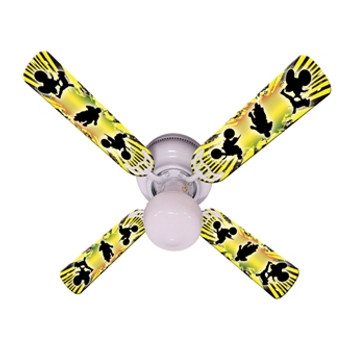 "Kids Baja Mx Motocross Ceiling Fan 42"" 1"