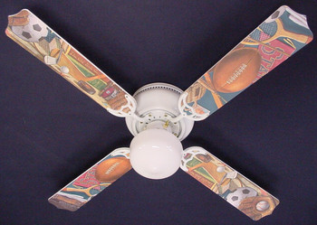 "Classic Sports Ceiling Fan 42"" 1"