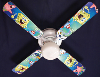 "Sponge Bob Square Pants Ceiling Fan 42"" 1"