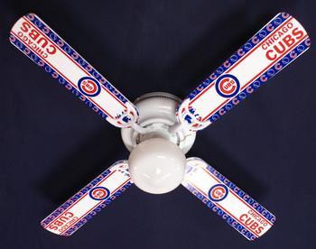 "MLB Chicago Cubs Baseball Ceiling Fan 42"" 2"