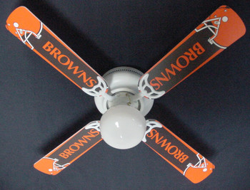 "NFL Cleveland Browns Ceiling Fan 42"" 1"