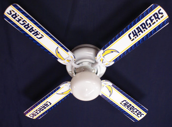 "NFL San Diego Chargers Football Ceiling Fan 42"" 1"