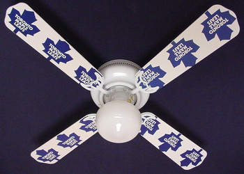 "NHL Toronto Maple Leafs Hockey Ceiling Fan 42"" 1"