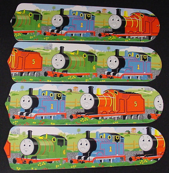 "Thomas Tank Engine Train Percy Ceiling Fan 42"" Blades Only 1"