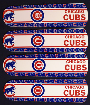 "MLB Chicago Cubs Baseball Ceiling Fan 42"" Blades Only 1"