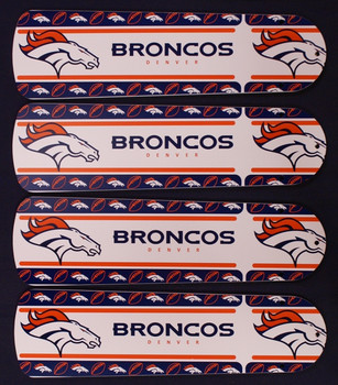 "NFL Denver Broncos Football Ceiling Fan 42"" Blades Only"