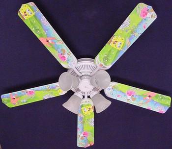 "Sponge Bob Square Pants Ceiling Fan 52"""