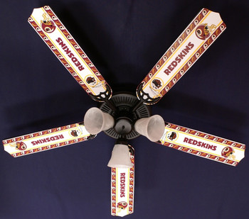 "NFL Washington Redskins Ceiling Fan 52"" 1"