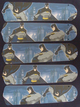 "Batman Superhero 52"" Ceiling Fan Blades Only 1"