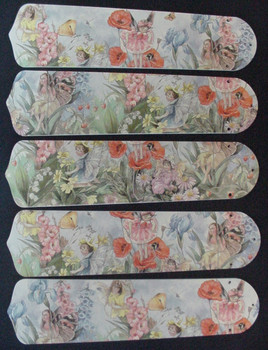 "Magical Fairies 52"" Ceiling Fan Blades Only 1"