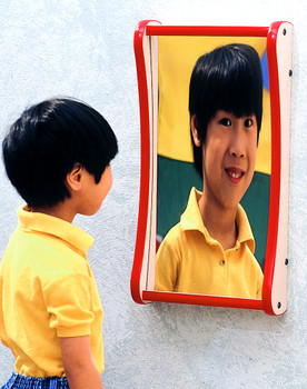 Funhouse Giggle Mirror