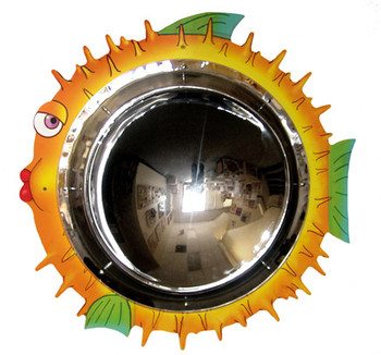 Anatex Blowfish Mirror Wall Panel Mirror 1
