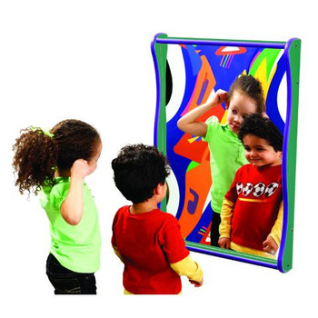 Super Wide Giant Giggle Mirror
