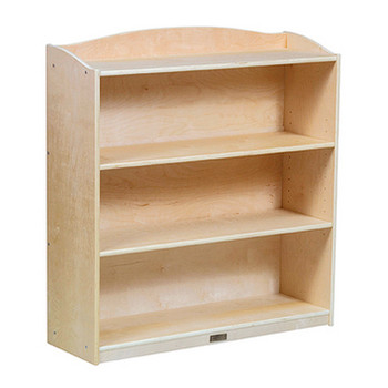 Guidecraft 4 Shelf Bookshelf 1