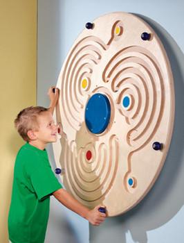 Wall Ball Labyrinth Wall Toy