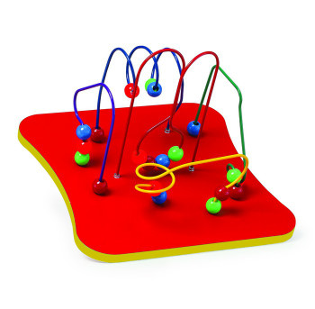 5- Wires and Beads Wall Game