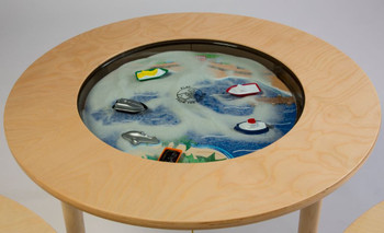 Ocean Round Magnetic Sand Table 1