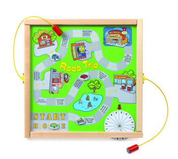 Road Trip Magnetic Wall Game