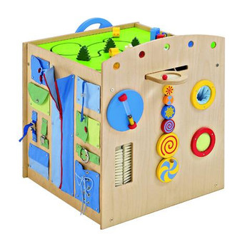 Sensory Island Play Cube Sides