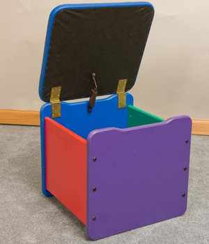 Single Toy Box Seat Chest