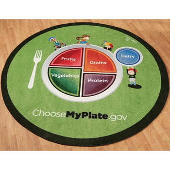 Playscapes MyPlate Kids Area Carpet