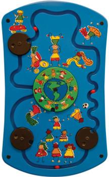 Gressco Be Active World Activity Wall Panel Toy