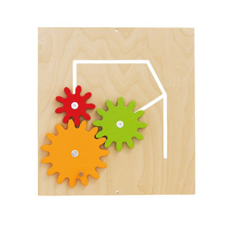 HABA Sensory Wall - Gear Wheels Toy