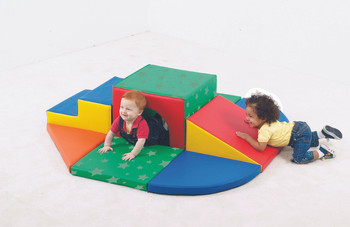 Soft Tunnel Indoor Climber Set