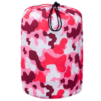 Camo Pink Sleeping Bag in Bag