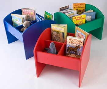 Solid Color Book & Media Browser Bin