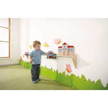 Push Along Train Rail Wall Activity