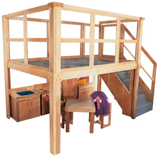 Deluxe School Age Navigator 2000 loft (Preschool shown, other furniture not included) 1