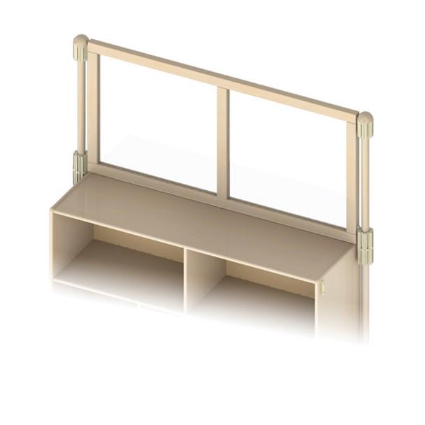 Upper Deck Divider See Thru