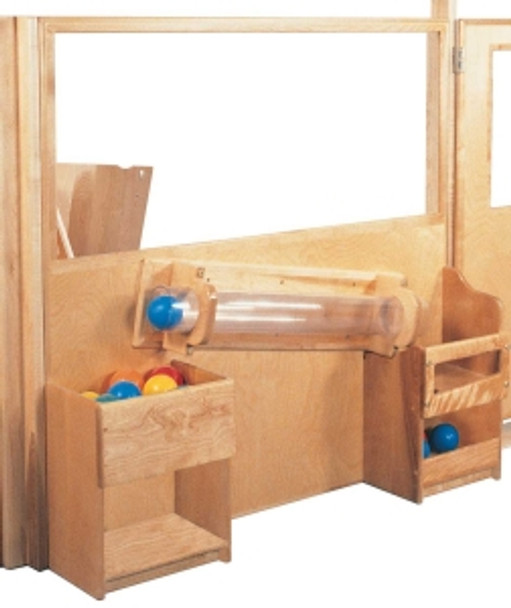 Deluxe Room Divider with Tracking Tube, 48''w 1