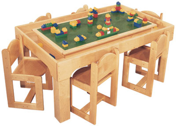 Mainstream Lego Activity Table Toy Playcenter for 6 1