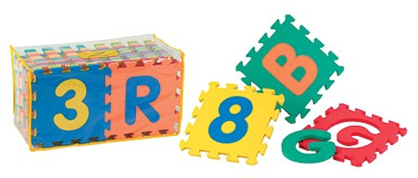 Junior Learning Mat A-Z and 0-9 1